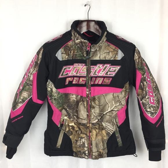 44f555a2b5451 Castle X Jackets & Coats | Youth Camo Winter Racing Jacket Size Med ...
